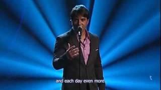 Luis Fonsi - Aunque estes con él (Live) English Subtitle