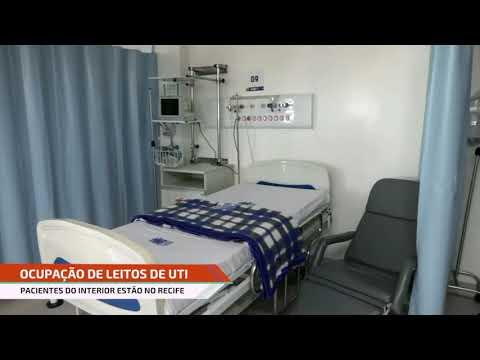 Pernambuco tem menor percentual de ocupação de UTIs desde o início da pandemia do coronavírus