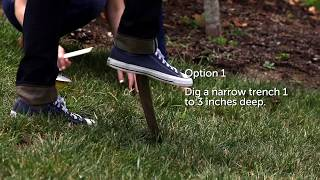 How to Bury PetSafe® In-Ground Fence™ Wire