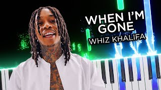 When I'm Gone Intro (Wiz Khalifa) - Piano Tutorial