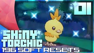 LIVE SHINY TORCHIC AFTER 196 SOFT RESETS! - Pokémon Omega Ruby/Alpha Sapphire Highlight