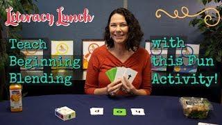 Teach Beginning Blending With This Fun Activity!
