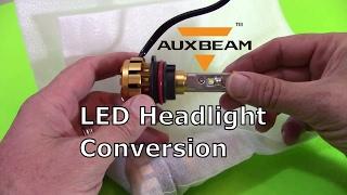 Auxbeam 9004 LED Headlight Conversion