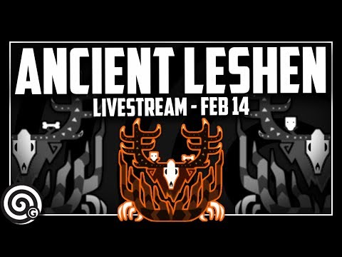 ANCIENT LESHEN - Livestream | Monster Hunter World