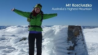 Mt Kosciuszko - Australia's Highest Mountain
