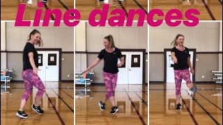 Line dances for Seniors and Beginners - Electric Slide, Cupid Shuffle, and more!