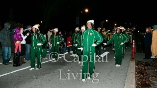 preview picture of video 'KSU Band in the Frankfort Jaycees Christmas Parade 2014'