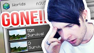 Minecraft Pocket Edition | I LOST MY WORLD...