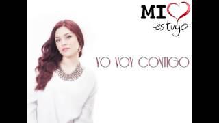 Brisa Carrillo - Yo voy contigo NOVELA ¨MI CORAZON ES TUYO¨ (VIDEO LYRIC)