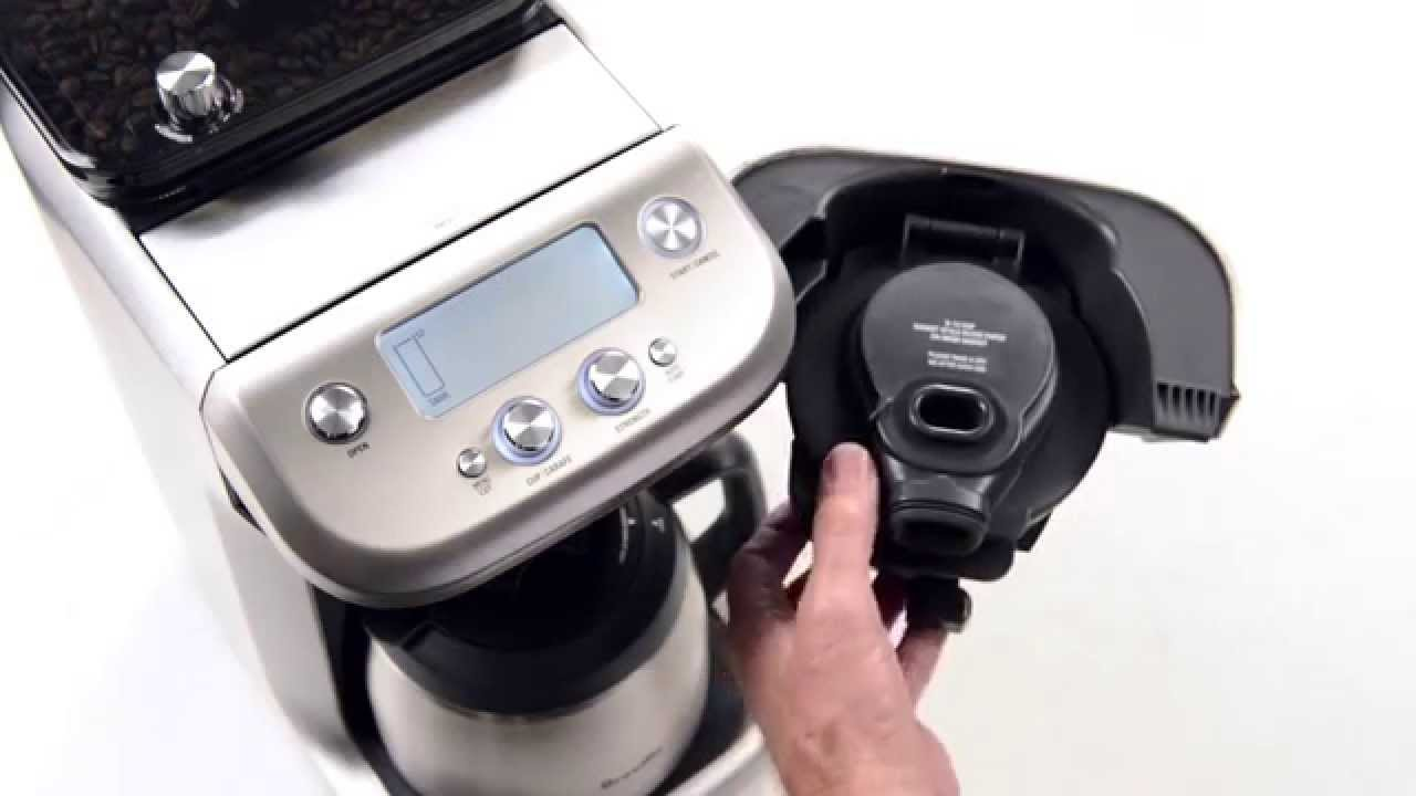 La cafetière Grind Control de Breville
