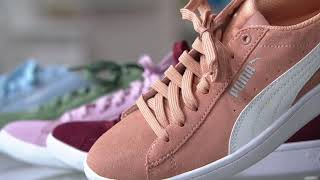 PUMA Suede Lace-Up Sneakers - Vikky Classic on QVC c74a41e0d