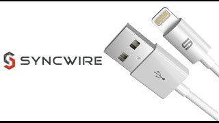 Syncwire 3.3 FT Apple Lightning Charge and Sync Cable