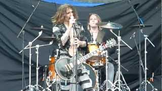 THE DARKNESS °HD° Is it just me? GODS OF METAL Milano Italy 23/06/2012 -tinaRnR