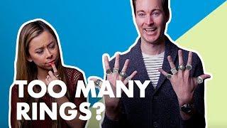 How Many Rings Should Men Wear?