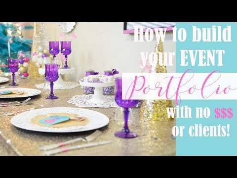 , title : 'How to Start your Event Portfolio with No Money or Clients!!