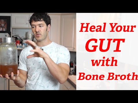 Video Best Bone Broth Recipe For Healing Leaky Gut