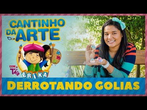 DERROTANDO GOLIAS   Especial de Férias com a Tia Érika