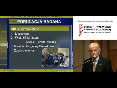 Tętniak aorty brzusznej - wyniki pierwszego badania przesiewowego w Polsce