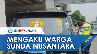 Mobil di Jakarta Pakai Pelat Palsu Ditilang, Pengemudi Mengaku Warga Kekaisaran Sunda Nusantara