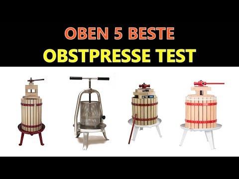 Obstpresse Test 2019