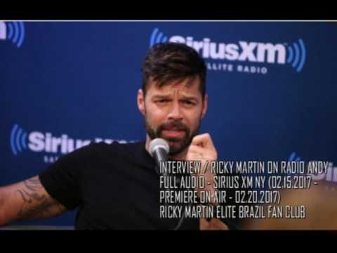 [FULL AUDIO INTERVIEW] Ricky Martin on Radio Andy | Sirius XM