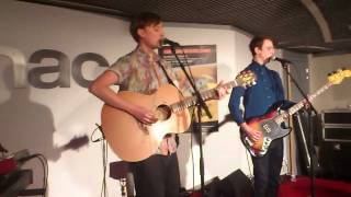 Django Django - Firewater (acoustic session Fnac forum des Halles)