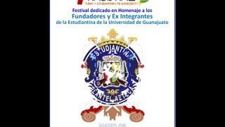 Estudiantina del Plantel Azteca_7° Festival Nacional de Tunas y Estudiantina en Guanajuato