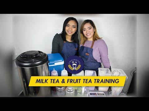 Milk Tea + Fruit Tea Training   Q & A Universitea - YouTube