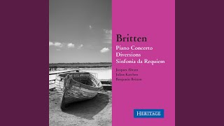 Britten: Diversions for Left hand and Orchestra, Op. 21: Variation II: Romance (Allegretto mosso)