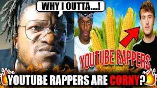 SCRU FACE JEAN Responds To - Youtube Rappers Are Corny?