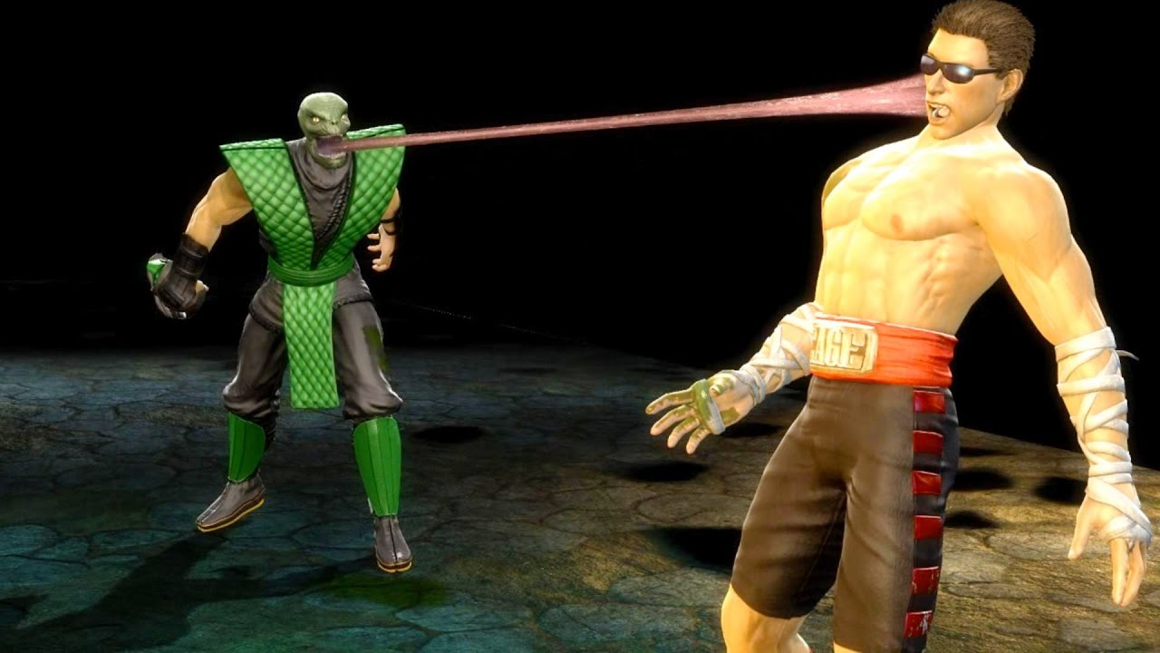 Mortal Kombat 9 - All Fatalities & X-Rays on Johnny Cage MK1