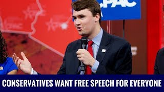 Charlie Kirk: Conservatives Want Free Speech For Everyone