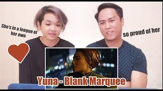 Yuna   Blank Marquee Ft. G Eazy | SINGERS REACT