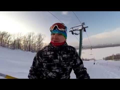 Видео: Видео горнолыжного курорта Новинки, Спортивная деревня в Нижегородская область