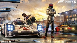 Forza 7 Motorsport Gameplay 4K Livestream - Forza 7 Motorsport Official Walkthrough Races & Cars