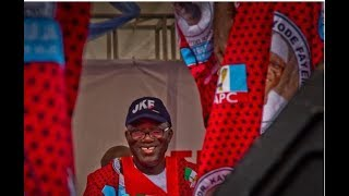 EXCLUSIVE: Jubilation as Fayemi''s convoy enter Ekiti streets - VIDEO
