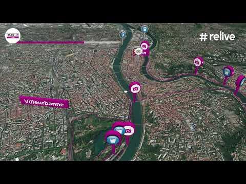 Parcours Marathon - Run In Lyon 2018