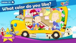 Bài 23_ (A) màu gì làm bạn như thế nào? - Cartoon Câu chuyện