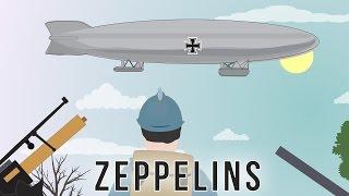 First World War tech: Zeppelins