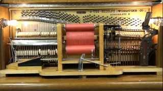 """Rag Time Chimes"" played by Wurlitzer Mandolin-Quartette"