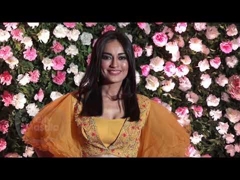 Surbhi Jyoti Sexy Avatar At Kapil Sharma Reception