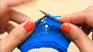 K5tog - Knit 5 stitches together