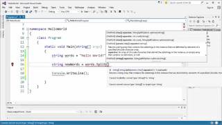 C# Programming   String Methods And Properties