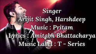 Kabira Encore Lyrics | Arijit Singh | - YouTube