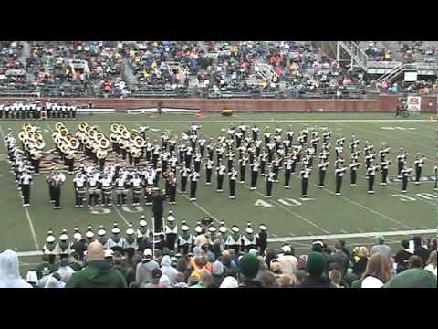 The is one of the viral videos from the marching band I played for in college.