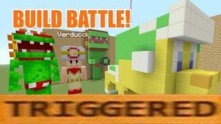 Minecraft Switch - Super Mario Build Battles! - TRIGGER WARNING ft. Verducci [1]
