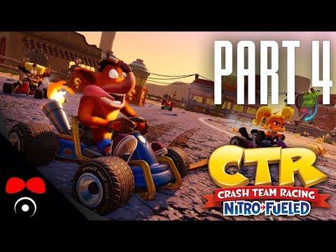 NEJTĚSNĚJŠÍ ZÁVOD ZATÍM! | Crash Team Racing  #4