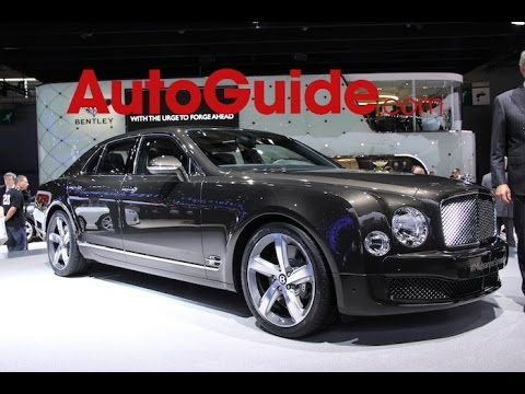 2015 Bentley Mulsanne Speed - 2014 Paris Motor Show