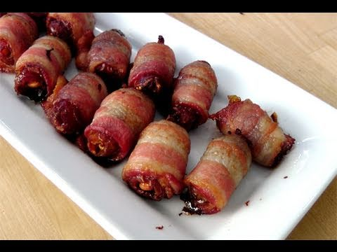 Candied Bacon Bites – Recipe by Laura Vitale – Laura in the Kitchen Episode 83