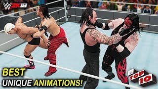 WWE 2K18 Top 10 Superstars Best Specific Unique Reversal Animations! - Video Youtube